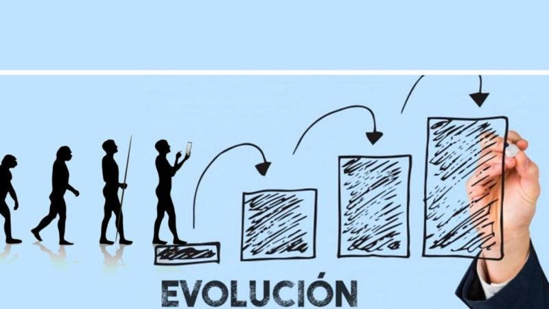 web-evolución